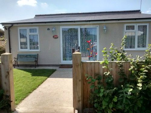 This is Dawn, the dog friendly holiday home in Hemsby which has a sea view.  Not many properties in Norfolk have a sea view!