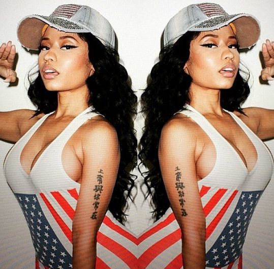 THE WORLD AT LARGE: More photos from Nicki Minaj's Rolling Stone photo...
