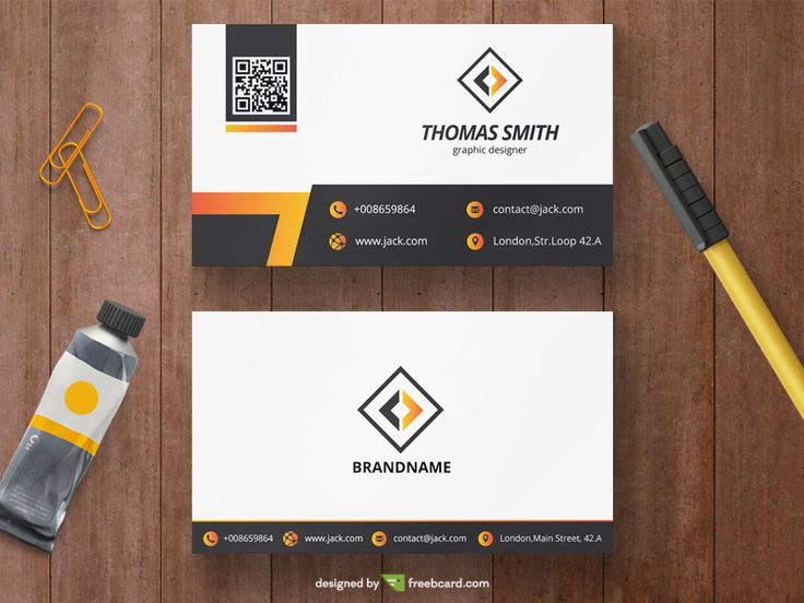 12 best minimal business card templates 2018 images on pinterest yellow corporate business card template wajeb Images