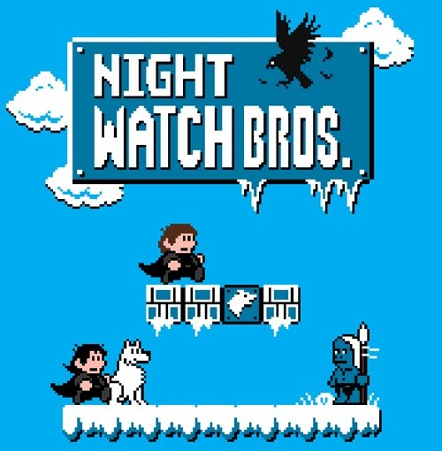 Night Watch Bros. ;) - Game of Thrones