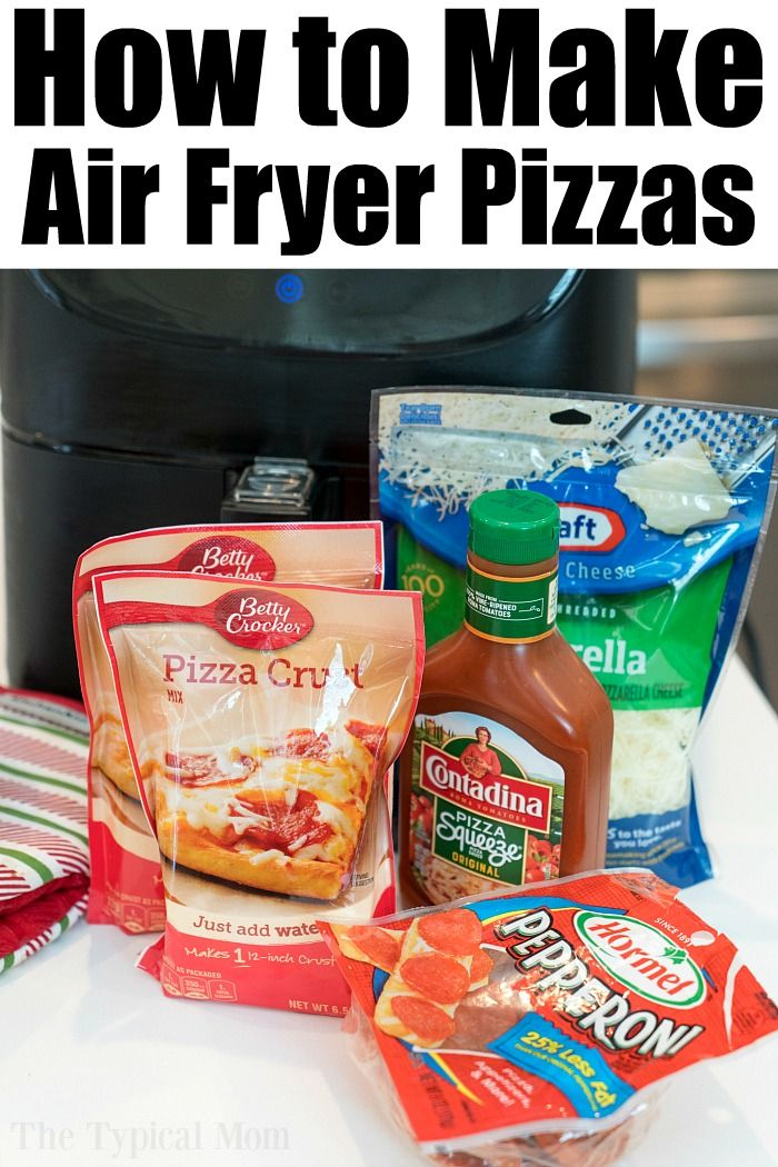 Ninja Foodi Pizza In Air Fryer Mode Pizza Ninjafoodi Airfryer