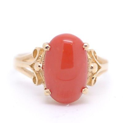 Coral stone jewellery