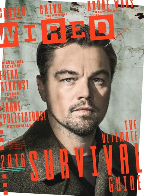 Wired (US) Di Caprio cover Wired magazine US edition Photography: Dan Winters - Smash It!