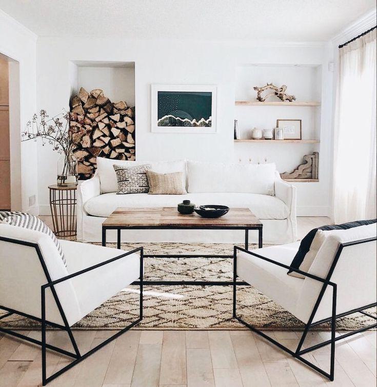 Modern Clean Rustic Living Room Modern Rustic Living Room