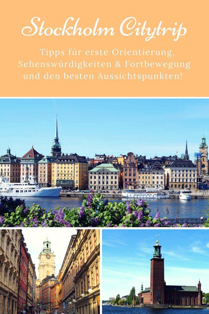 Tipps für Stockholm Sehenswürdigkeiten. Die coolsten Aussichtspunkte der Stadt und vieles mehr! Schweden Sweden