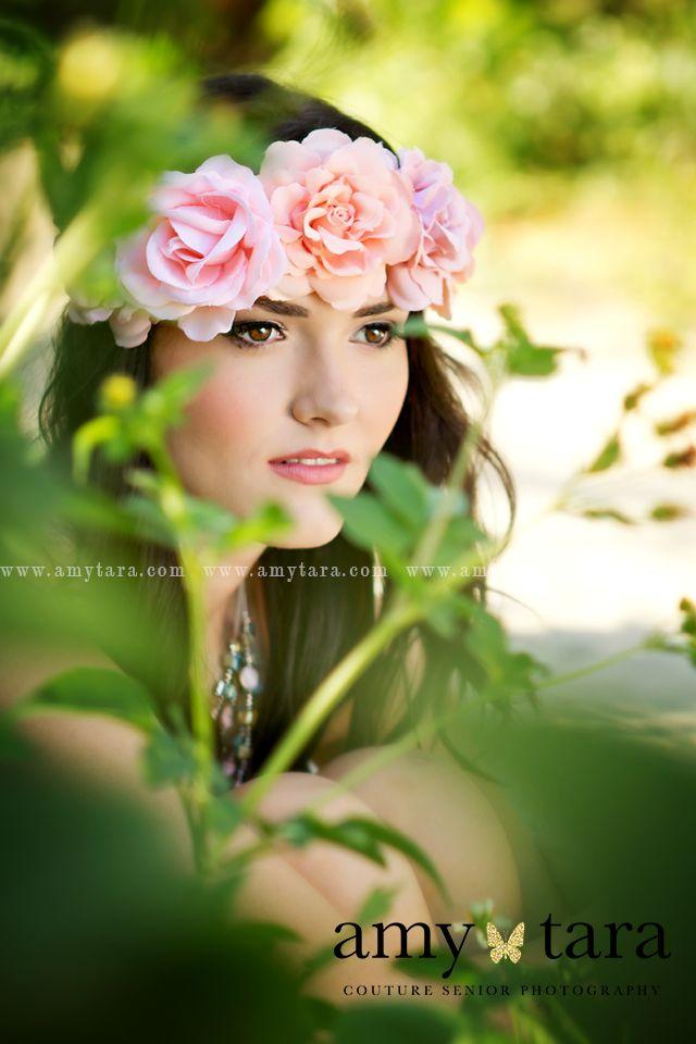 www.amytara.com   senior portrait photo session   Stuart FL portrait photographer   flower crown
