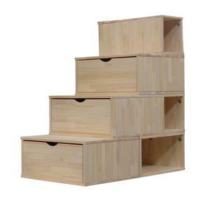 Afficher plus d'informations du produit Escalier Cube de rangement Hauteur 100 cm
