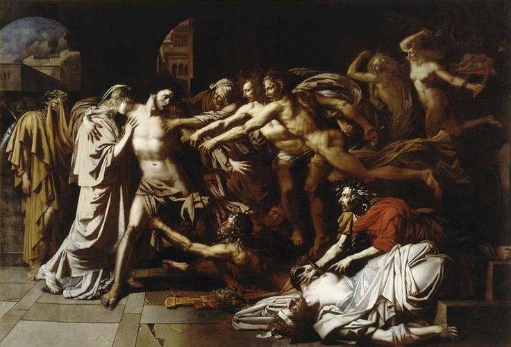 Les remords d'Oreste - Hennequin - Louvre