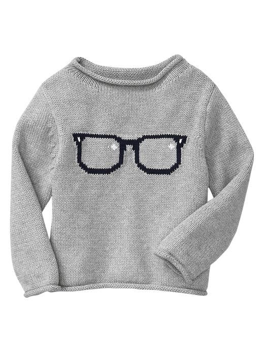 Gap | Intarsia glasses sweater