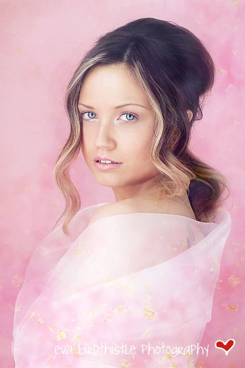 Loving this Cherry Blossom shoot for a Couture Session #portrait #pink #couture #flower