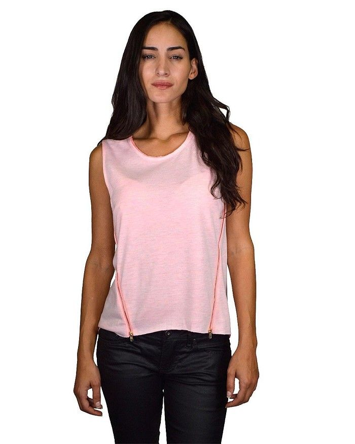 Sleeveless High Low Round Neck Top with Side Zipper Details Is Just $5.99 #affordable plus size clothing, #buy cheap clothes online, #buy clothes online, #buy clothes online, #cheapclothes, #cheap clothes for women, #cheap clothes online, #cheap clothing, #cheap clothing online, #cheap clothing sites, #cheap clothing stores, #cheap clothing stores online, #cheap clothing websites, #cheap fashion clothes, #cheap fashionable clothes, #cheap junior clothing, #cheap online clothing stores…