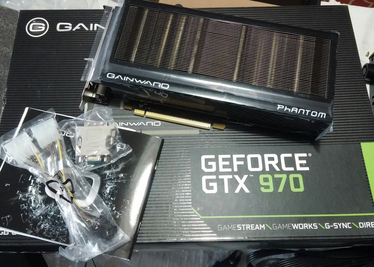 "Gainward GeForce GTX 970 ""4096MB"" Phantom  https://www.facebook.com/PCWhisperer.gr  I was waiting more geeky staff inside this box :("