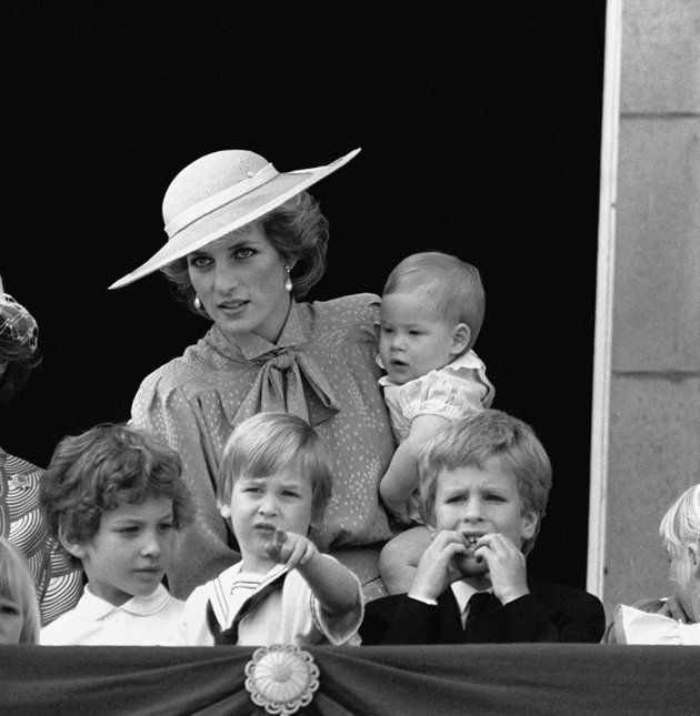 Baby Prince, Trooping Of The Colour And Princess Diana On