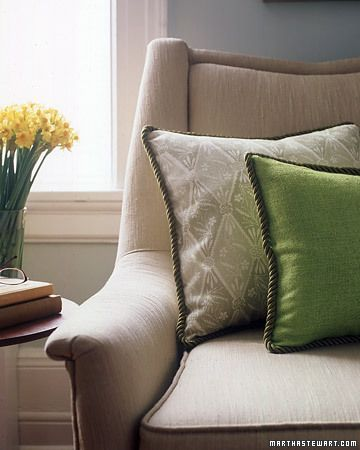 Pillows, can give your sofa character!