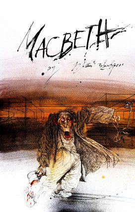 Macbeth Artwork created for the Royal Shakespeare Company