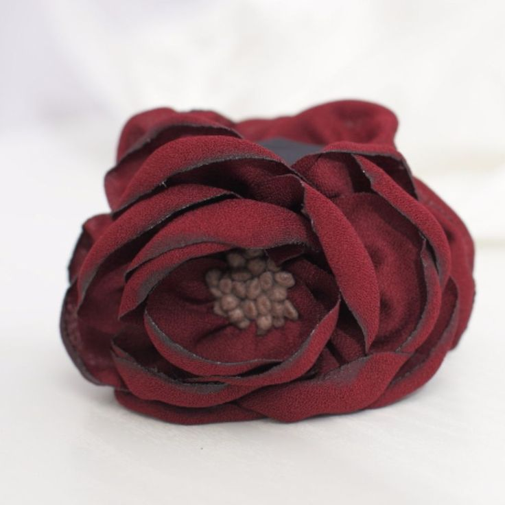 Handmade Peony Root Motivated Pistil Flower Hair Jaw Claw Clip  #VeryShine #Claws #CasualSpecialDay
