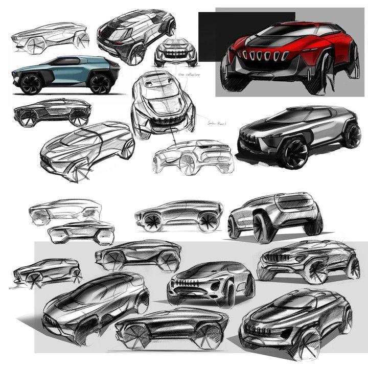 Umeå Institute of Design previews 2016 projects - Car Body Design