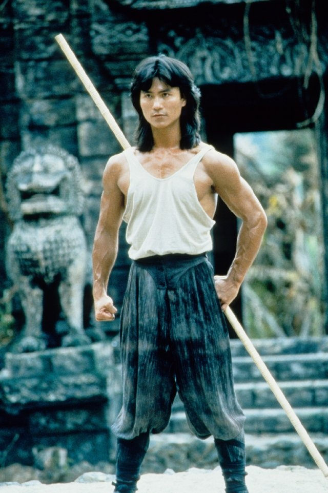 Robin Shou as Liu Kang.  I'm too old for this to still be one of my favorite movies lol