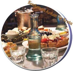 Nòg een 'doe' vakantie op Kreta : kaas eten op Kreta, honing eten, Vlees en vis eten en de souvlaki, Raki drinken van de druiveschilletjes, en Tzatziki tot besluit .