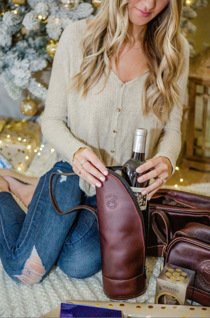 The Duluth Pack Leather Wine Case is the beverage holder you need. Kaitlin Keegan of the blog, The Blonde Expeditions loves this Made in America product. Shop it both in-store and online at www.duluthpack.com!