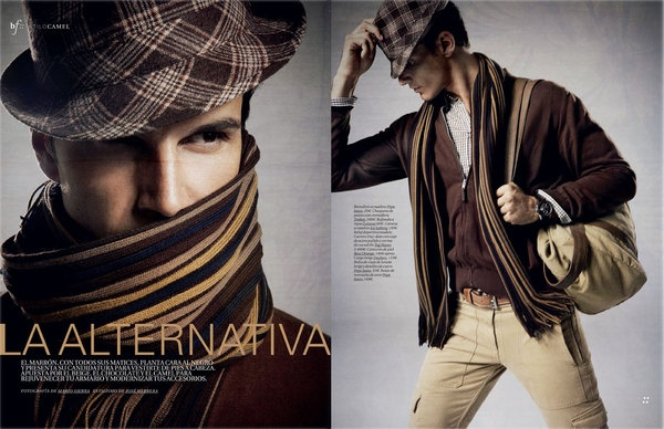 EDITORIAL MENS HEALTH by Jose Herrera, via Behance