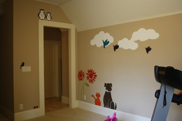 Painted Wall for kids room
