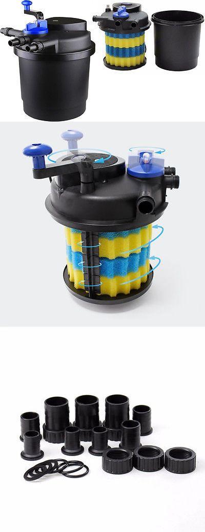 Other Fish and Aquarium Supplies 8444: Cpf-3000 Pressurized Bio Pond Filter W/13Watt Uv Sterilizer -> BUY IT NOW ONLY: $99.99 on eBay!