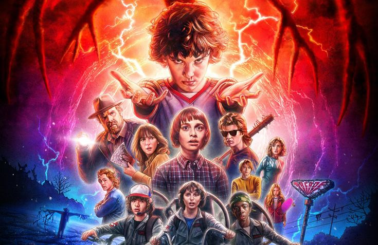 The Official Stranger Things Season 2 Poster!