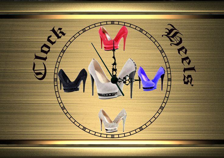 Clock heels