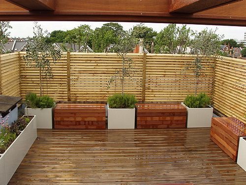 jardines contemporáneos | Ideas y Diseños de Terrazas Pequeñas, Bonitas y Modernas | Blogicasa ...