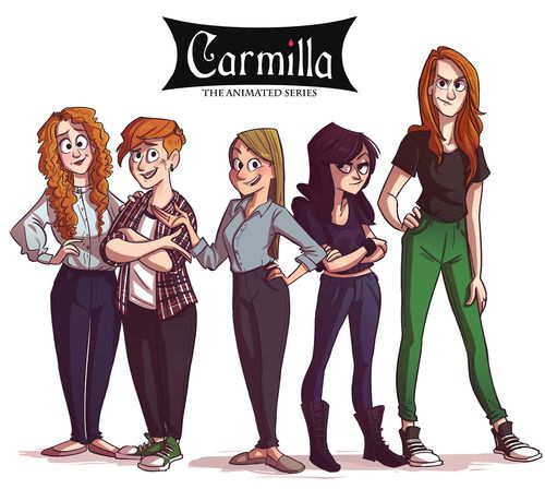 completely obsessed with this webseries Carmilla. i found it and watched all of it in one day