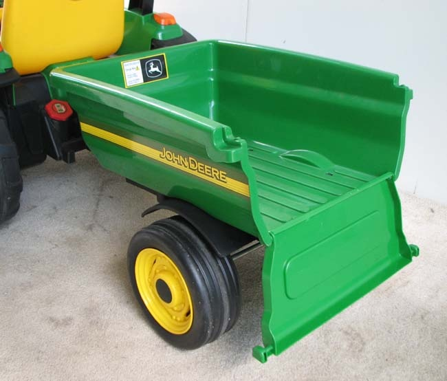 Peg Perego John Deere Trailer | Peg Perego John Deere Loader Tractor 12V Power Wheels Hardly Used New ...
