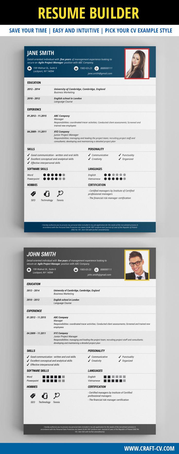 Simple Resume  #resume #resumetemplate