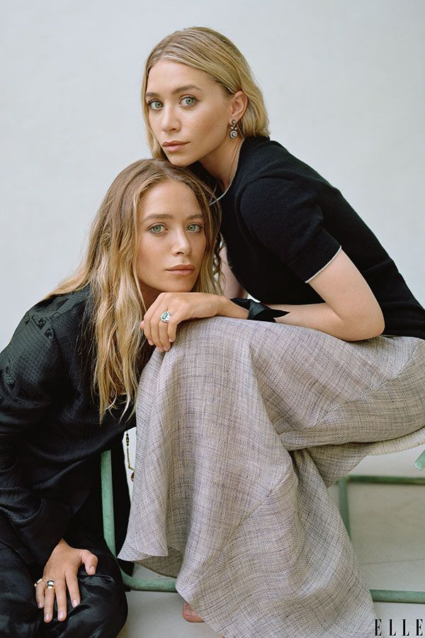 Mary-Kate & Ashley. Cant remember the last time I saw them looking this identical!