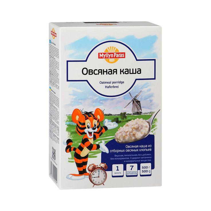 Каша Myllyn Paras безмолочная 500 гр Овсяная (с 12 мес)