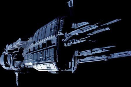 Aliens - The Sulacco. Capital ship of the Colonial Marines in the Aliens Universe.