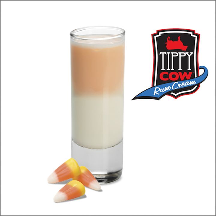Tippy Cow Halloween Layered Shooters: Candy Corn