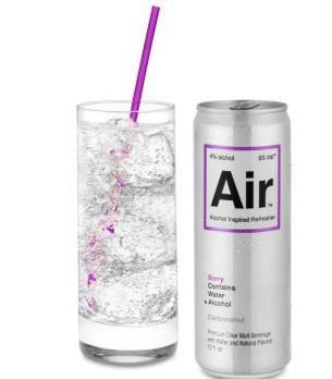 Air - a new alcoholic drink described as odorless, colorless, and tasteless!!    haha what.... so kinda like water (to people who say water doesn't taste?) sounds dangerous