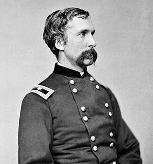 Joshua Lawrence Chamberlain, Union, 20th Maine....my favorite historical figure of the Battle of Gettysburg. Little Round Top. Hero.    thinkthankfully.blogspot.com
