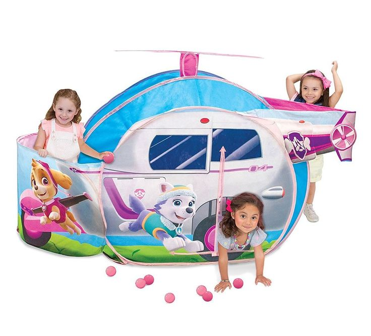 Paw Patrol Skye High Flyin' Copter Play Tent #Unbranded
