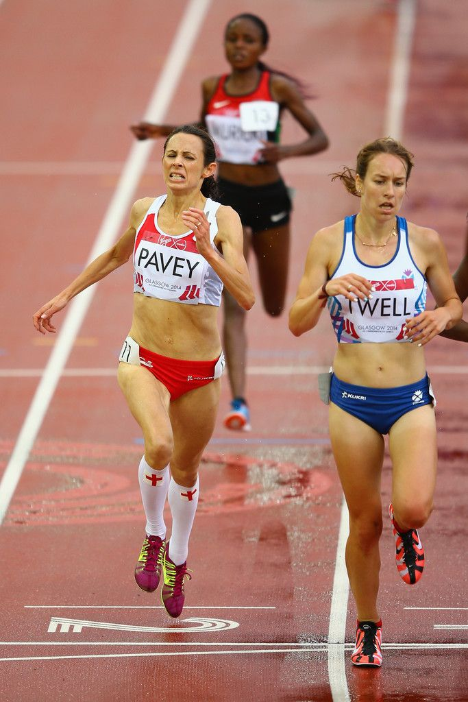 Jo Pavey of England.  at 40 years old won Gold in the 10,000 meters and placed third (bronze) in the 5000 meters at the 2014 Eurpean championships.  the oldest female European champion in history