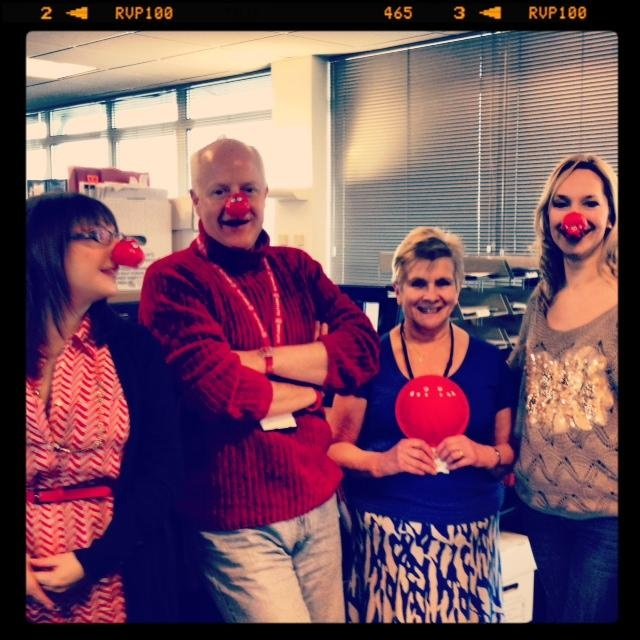 Our Employment Team in our Exeter office getting into the spirit!