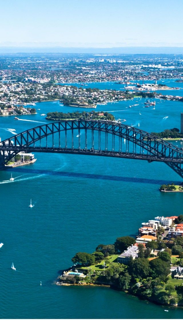 Aerial Sydney   - Explore the World with Travel Nerd Nici, one Country at a Time. http://TravelNerdNici.com