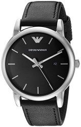 Emporio Armani Men's AR1692 Classic Black Stainless Steel Watch