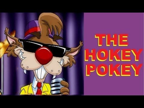 ▶ THE HOKEY POKEY with Lyrics - YouTube