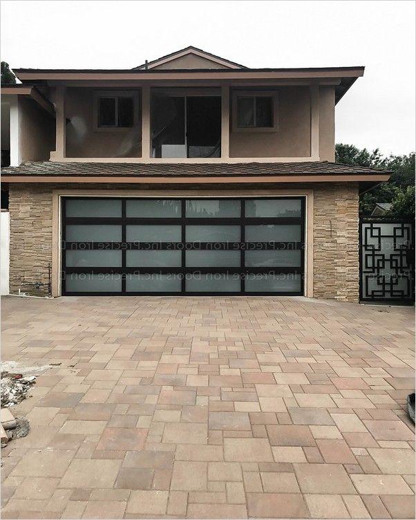 Glass Garage Doors Cost In 2020 Glass Garage Door Cost Glass Garage Door Garage Doors
