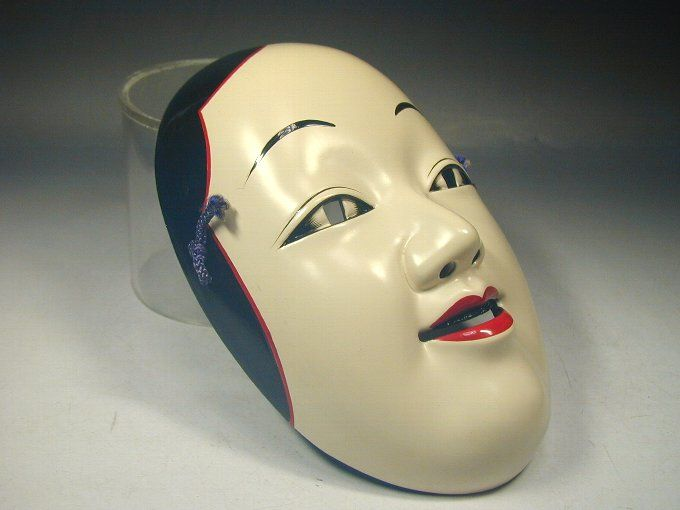 Japanese-Ko-omote-Mask-345-Signed-Geisha-Woman-Noh-Kagura-Theater-Tattoo-Art-Vtg-1.jpg 680×510 pixels