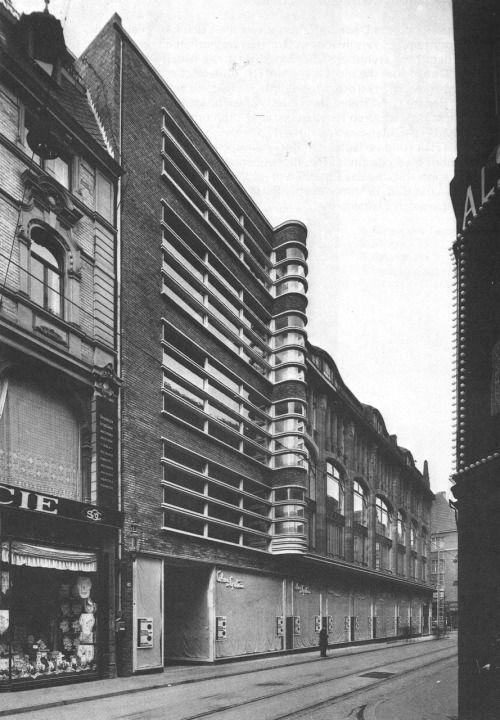 "betonbabe: "" ERICH MENDELSOHN COHEN-EPSTEIN DEPARTMENT STORE, DUISBURG 1926-27 """
