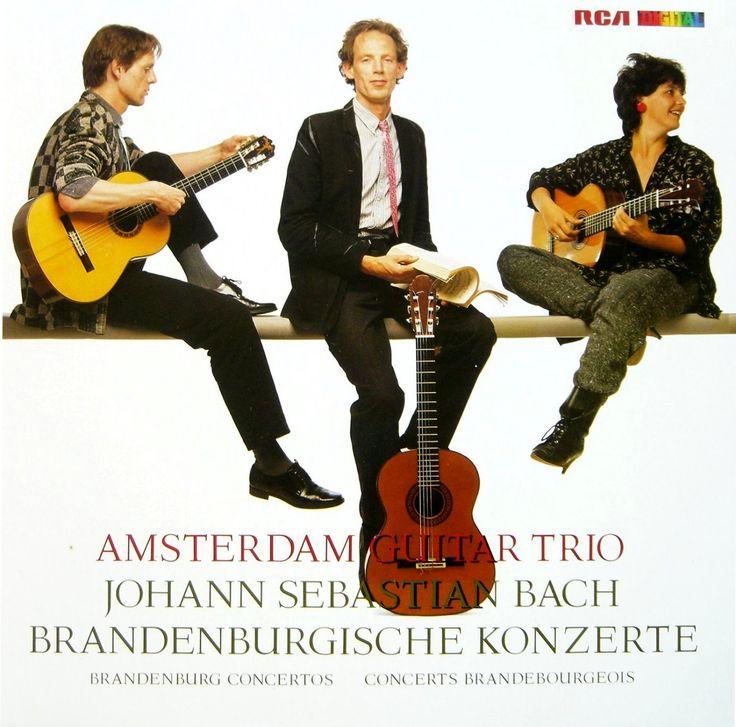 Amsterdam Guitar Trio Brandenburgische Konzerte Johann Sebastian Bach