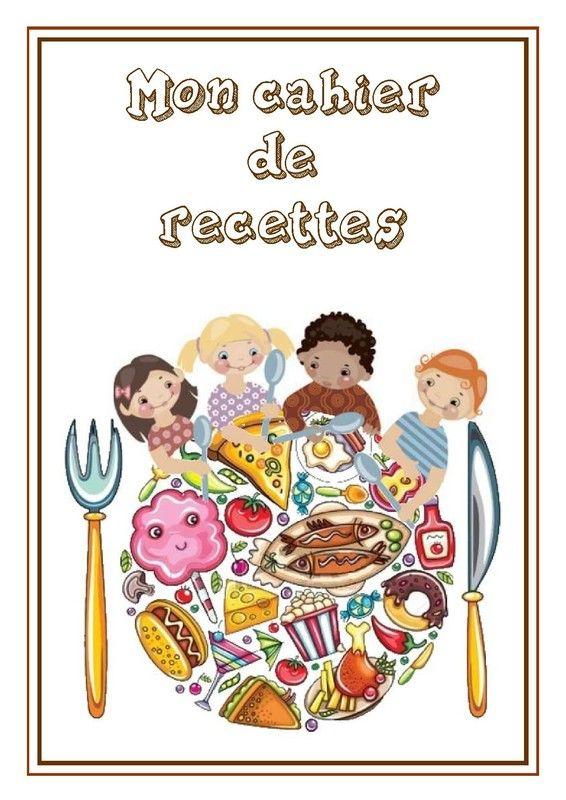 Page de garde cahier de recettes cahier de recette - Recette de cuisine pour l hiver ...